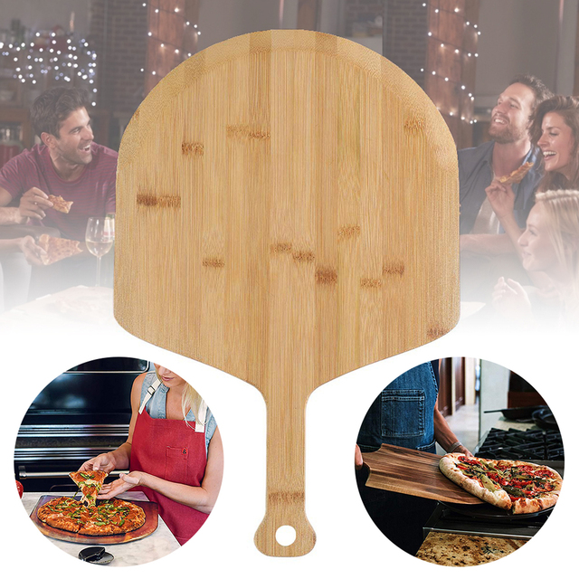 Wooden Pizza Shovel And Cutting Board  1