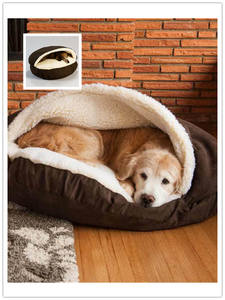 Nest Pet-House-Pad Dog-Cave-Bed Sleeping-Mats Washable Dogs Home Kennel Winter-Products