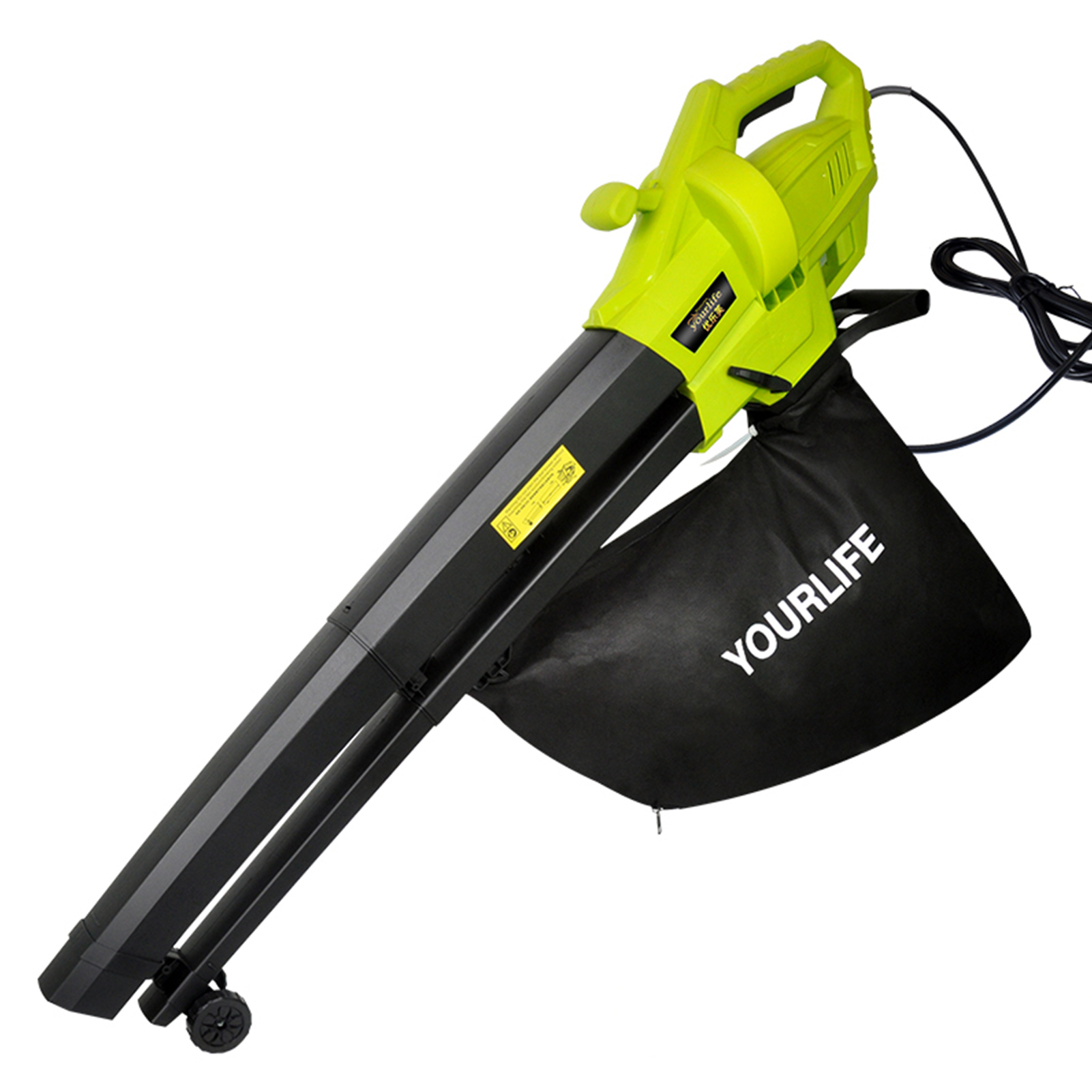 3000W Leaf Vacuum 3 In 1 Multi-function Durable Electric Garden Leaf Blower With 45L Collection Bag Leaf Snow Mulcher 220-240V