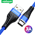 Vothoon 3A Fast Charging Type C USB Cable For Samsung S10 Xiaomi Redmi Note 7 Type C Mobile Phone Charging Wire Cord USB C Cable