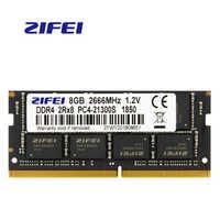 ZiFei ram DDR4 4GB 8GB 16GB 2133MHz 2400MHz 2666MHz 260Pin SO-DIMM module mémoire pour ordinateur portable