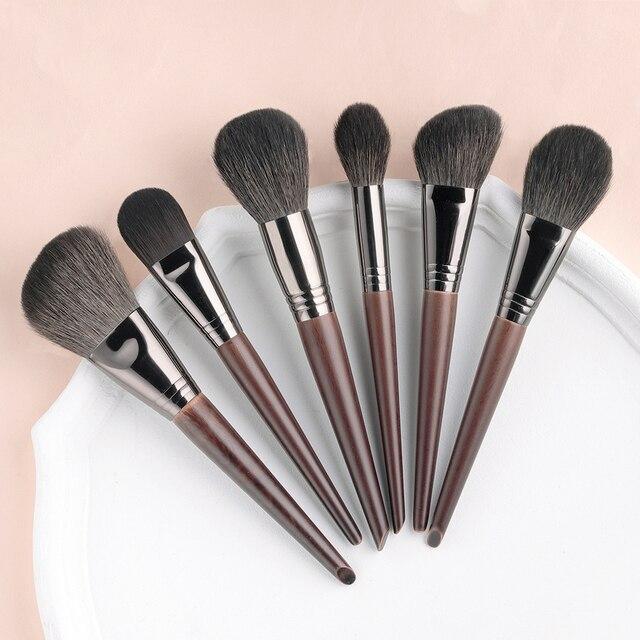 OVW Natural Makeup Brushes Set Eyeshadow Make Up Brush Goat Hair Kit for Makeup nabor kistey Blending  pinceaux maquillage 3