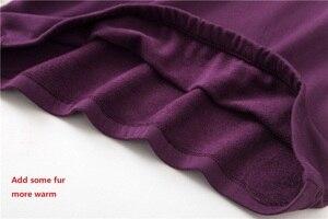 Image 5 - Zoete Warme Vrouwen Homewear Kleding Star Print Herfst Winter Lange Mouw Pyjama Set Katoen Vrouwelijke Nachtkleding Indoor Kleding