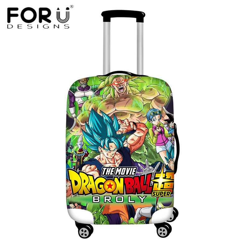 FORUDESIGNS/Дорожный эластичный Чехол для багажа Saiyan Goku Vegeta, защитный чехол для чемодана 18-32 дюймов - Цвет: HMA150