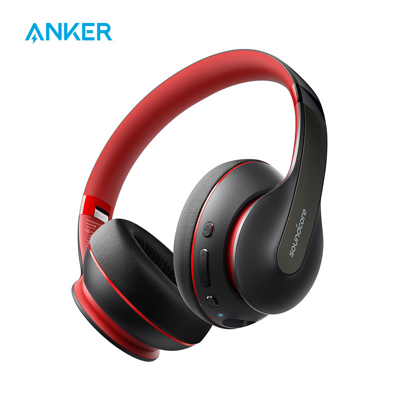 Anker Soundcore Life Q10 Wireless Bluetooth Headphones, Over Ear and Foldable, Hi-Res Certified Sound, 60-Hour Playtime