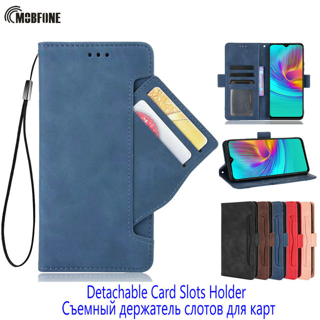 Unque Wallet Leather Case Voor Oppo A5 A9 A31 A52 A72 A73 A53 2020 A92S A54 A94 Magnetische Flip Cover reno 4 5 Pro 4 Z Kaarthouder