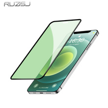 Tempered-Glass Screen-Protector Green-Light 8-Plus film iPhone 12 RUZSJ for 11-Pro/max-X-Xr