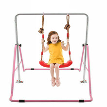 Indoor Children Horizontal Bars Adjustable Household Muscle Strength Pull-up bars Portable Foldable Kids gym Fitness Equipment