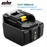 14.4V 4.0mAh Li-Ion Battery For MAKITA 14.4V Battery BL1430 BL1415 194066-1 194065-3 194559-8 MAK1430Li,MET1821