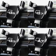 Auto Telefon Halter Für Audi A4 B8 B9 A6 C5 C6 C7 A7 Q5 A5 Q7 Q3 Q8 A8 A1 a3 s3 Auto klimaanlage steckdose halterung Auto GPS Halter