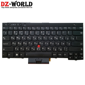 New RU Russian Keyboard for Lenovo Thinkpad L430 L530 T430 T430i T430S T530 T530i W530 X230 X230i X230 Tablet Laptop