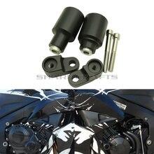 Deslizadores de armazón sin corte para motocicleta, protección contra caídas, bloque Protector de motor para HONDA CBR600RR CBR600 RR F5 600RR 2013 2019