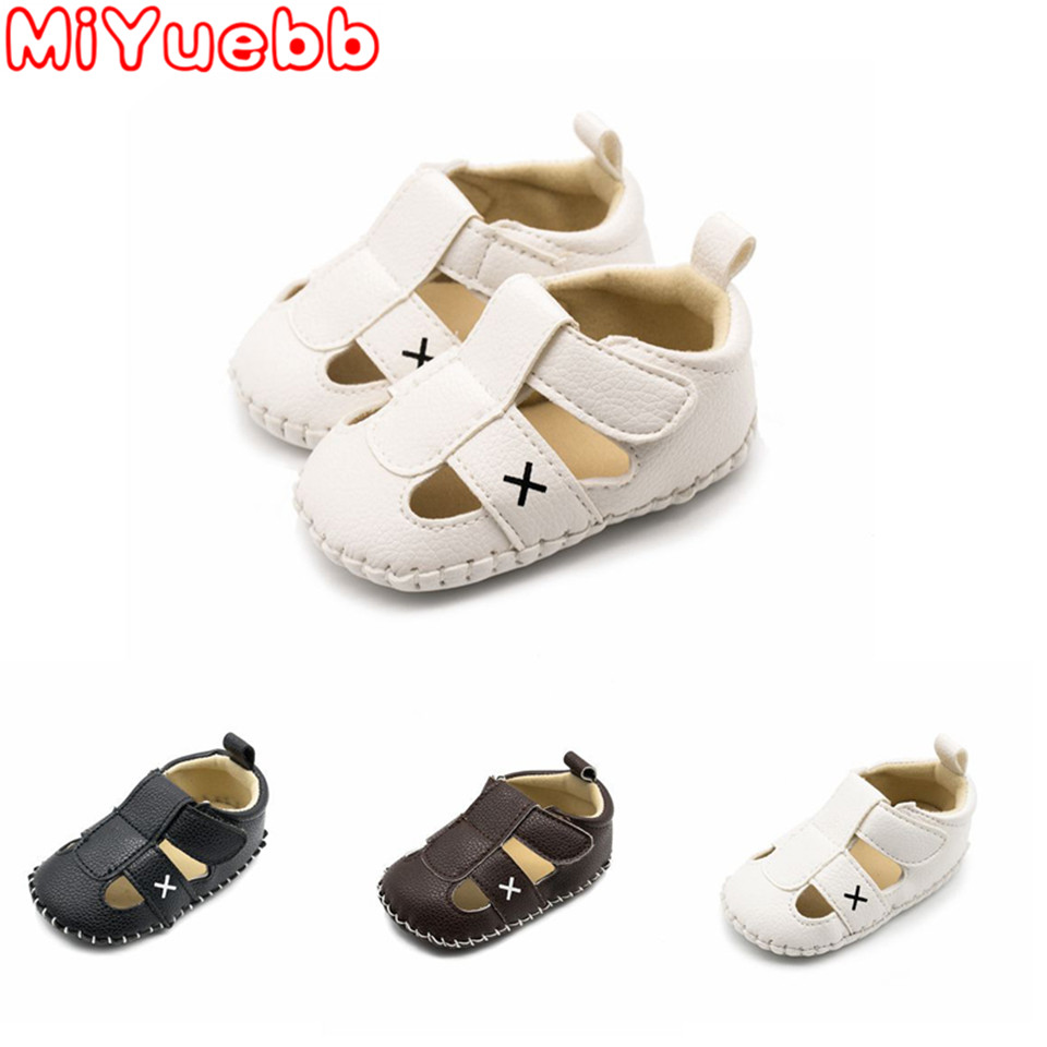 Sneakers For Children One Year Old  Newborn Baby Shoes Infant Toddler Buckle First Walkers Rubber Soled Summer Shoes For 0-18m X