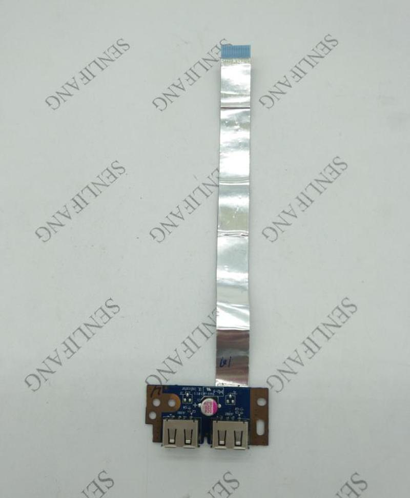 FOR Toshiba Satellite L500 L505 L555 USB BOARD WITH CABLE LS-4972P WORKS