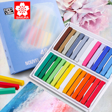 Color-Chalk-Set SAKURA for Art Student Special-Toner-Pigment Scenery Pearlescent Character