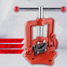Heavy Duty Pressure Pliers Pipe Vise Gantry Alloy Steel Jaws Galvanized Pipe Clamps