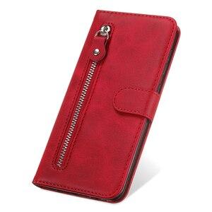 Image 5 - De lujo de cuero PU Flip teléfono caso Huawei Honor 9A 9X 8A 7A 20I 10I 10 Lite magnético cartera caso cubierta Coque