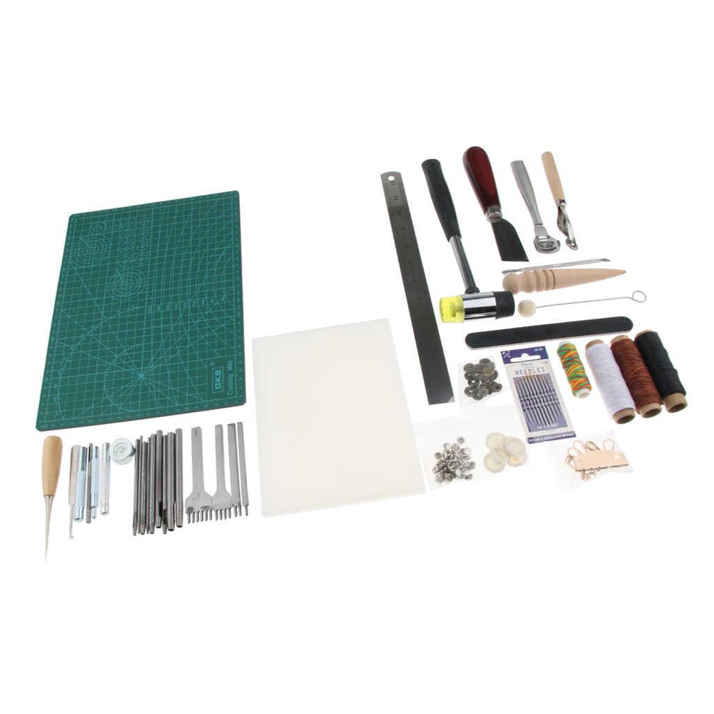 Outil de couture de couture de base en cuir