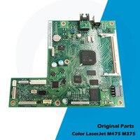 Original Para HP M375 M475 M475DW M475DN M375NW 375 475 placa Do Formatador Placa Lógica Mainboard CE855-67901 CE855-60001