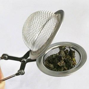 Image 2 - Kula Mesh sitko do herbaty stal nierdzewna stalowy łańcuch uchwyt zaparzaczka do herbaty przyrząd kuchenny kawy Herb filtr do przypraw narzędzie dyfuzor zaparzacz do herbaty