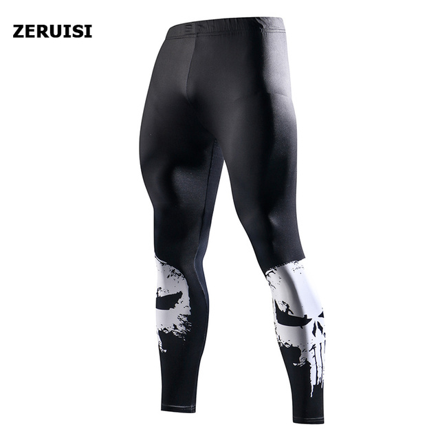 Superhero High Quality Men Skinny Pants 3D Pattern Superman Iron Man Pants Bodybuilding Jogger Fitness Skinny Leggings Trousers 3