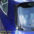 Lapetus Auto Styling Hinten Fenster Seite Tür Schwanz Fenster Panel Abdeckung Trim 2 Pcs Fit Für Audi Q5 2018  2020 ABS Carbon Look|Chrom-Styling|Kraftfahrzeuge und Motorräder -