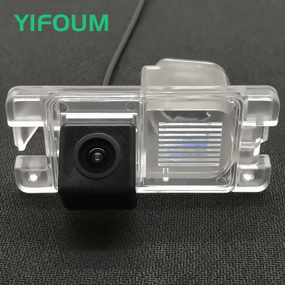 YIFOUM HD Vision nocturne 170D voiture vue arrière caméra de stationnement de secours pour Mitsubishi Pajero Pinin TR4 iO amérique version/L200 Triton