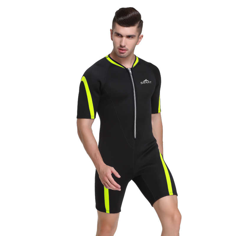 2018 Mannen Wetsuit Onderwatervissers 2mm Neopreen Een Stuk Badpak Duik Surf Swim Nat Pak Badmode Plus Size Beach Wear triathlon
