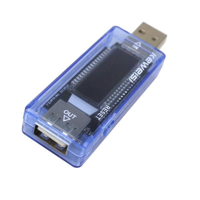 Chargeur USB détecteur de puissance testeur de capacité de batterie compteur de courant de tension