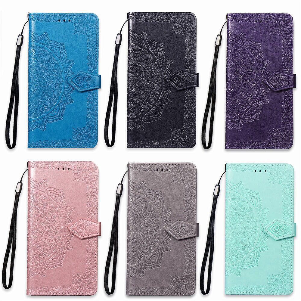 Dual Rose Leather Case For <font><b>Nokia</b></font> 1 TA-<font><b>1047</b></font> TA-1060 TA-1056 TA-1079 3D Flower Design Flip Wallet Leather Cover Phone Bag image