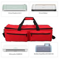Tool Carrying Case For Cutting Machine Supplies Travel Bag Compatible With Cricut Explore Air 2 Cricut Maker Silhouette CAMEO3,