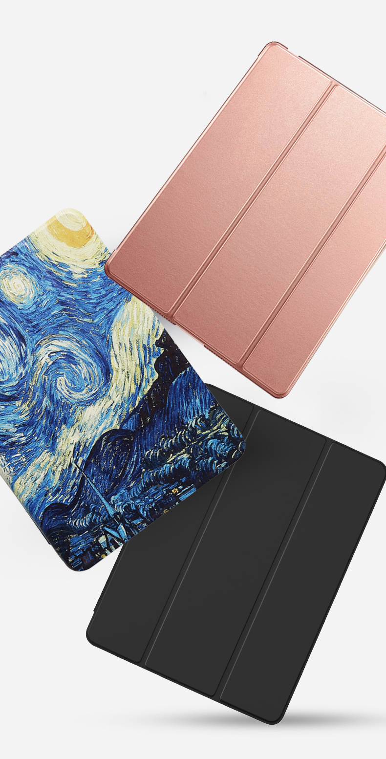 Cover Wake 2020 Flip Auto For Smart PU Full Trifold Air iPad Leather 10.9 Case Stand