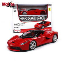 лучшая цена Maisto 1:24 Ferrari La Ferrari Assembling DIY Die Casting Model Car Toys New Collection Boys Toys
