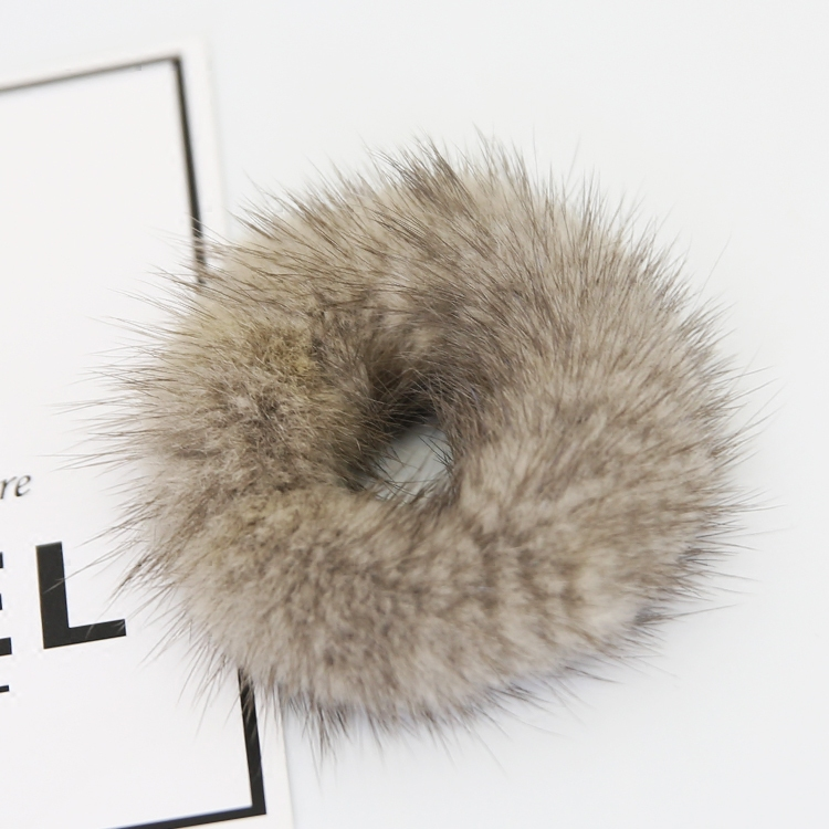 Mink fur ball sheadline real fur ball sheadline cute and fashionable female hair decoration hair accessories