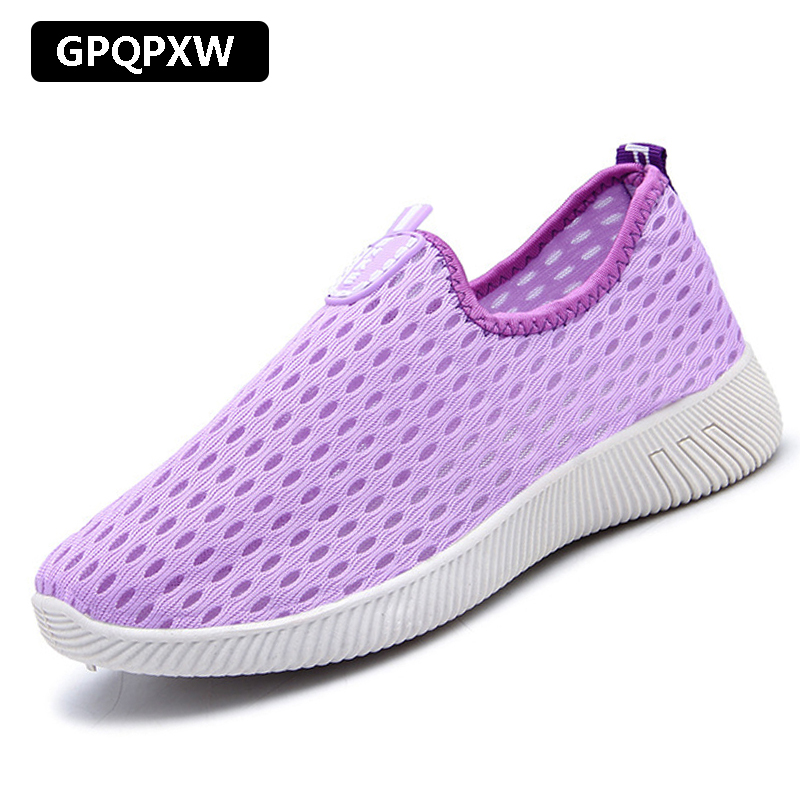 2019 New Old Beijing Shoes Outdoor Breathable Deodorant Casual Walking Shoes Non-slip Wear-resistant Ladies Sneakers