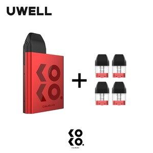Image 3 - UWELL Caliburn KOKO Pod System Kit and 1Pack 1.2ohm 2ml Refillable Pod Cartridge Top Fill Vape Pod System