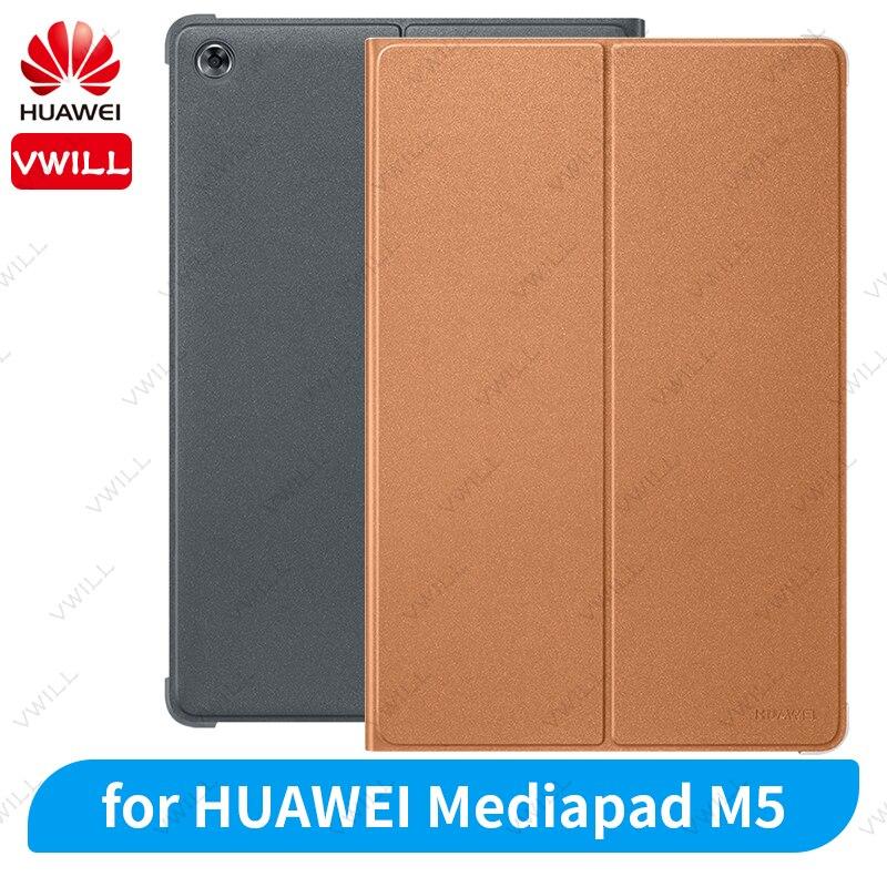 Новинка, Официальный Оригинальный чехол для HUAWEI Mediapad M5, 8,4 дюйма, 10,8 дюйма, кожаный чехол-книжка с подставкой для Smart View, чехол для M5 Pro, чехол д...