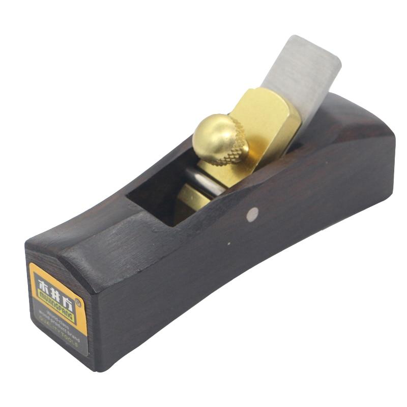 Ebony Mini Planer k01053-055-E Arc Bottom Planer DIY Woodworking Manual Planer carpenter tools