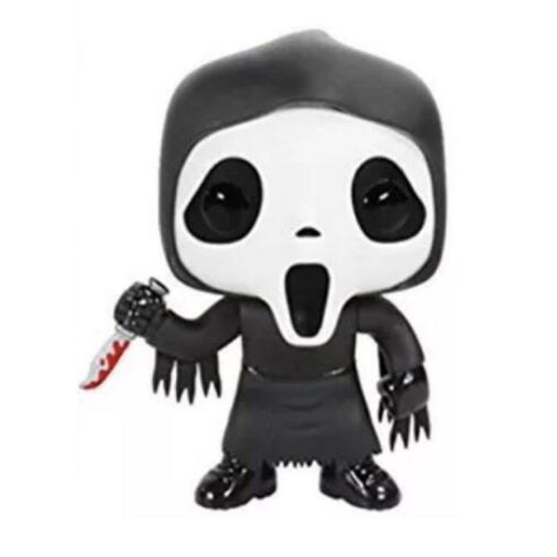 Movie Scream Character Ghost Face Vinyl Dolls Figure Toys