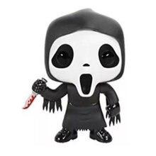 Filme scream personagem fantasma rosto bonecas de vinil figura brinquedos