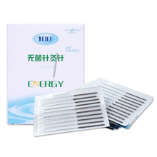 10Box-100Pcs/box Sterile Acupuncture Needles 1000 Disposable Sterile filiform needle Acupuncture Point Body Beauty