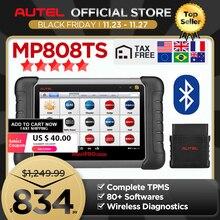 Autel MP808TS Công Cụ Chẩn Đoán Thủ Của DS808 Tốt Hơn So Với AP200 MK808 MK808TS Kết Hợp Của MS906BT TS601 Wifi Bluetooth Máy Quét OBD