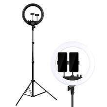 New 14 inch LED Ring Light Photo Studio Camera Lamp Photography Video Light for Youtube Makeup Live Selfie with Tripod Holder