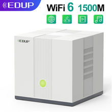 Edup 1500 м wi fi 6 маршрутизатор ax1500 dual band 24 г/wi 5