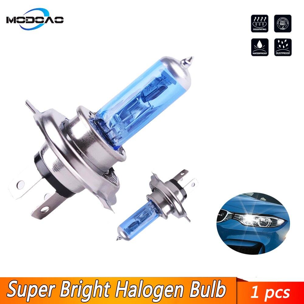Super White Halogen Bulb H1 H3 H4 H7 H8 H11 9005 HB3 12V 55W 5000K Quartz Glass Car Headlight Lamp Z