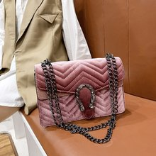 Luxury Handbags Women Bags Designer Vintage velvet Clutch Purse Shoulder Bag big Crossbody Bag For Women 2019 bolsa feminina
