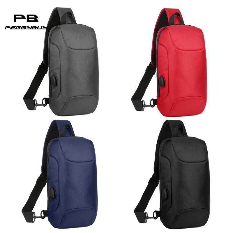 Multi-function Men Crossbody Bag Anti-theft Waterproof Shoulder Chest Pouch