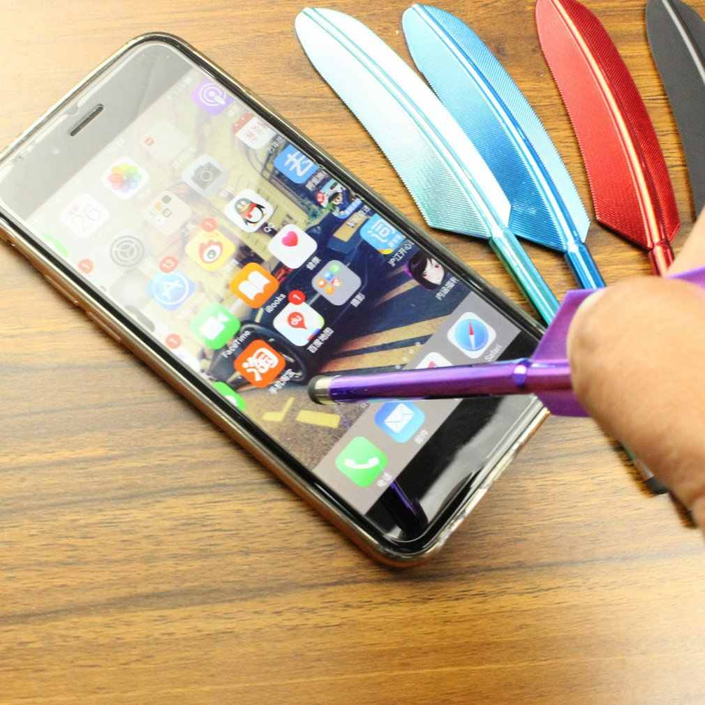 الأشعة فوق البنفسجية تصفيح ريشة قلم شاشة اللمس قلم مستدق الطرف بالسعة القلم ل ذاكرة فلاش لباد نقطة مستديرة رقيقة تلميح