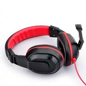 Image 2 - Kebidu yüksek performanslı ayarlanabilir oyun oyun kulaklıkları 3.5mm gürültü önleyici bilgisayar PC oyuncular için mikrofonlu kulaklık