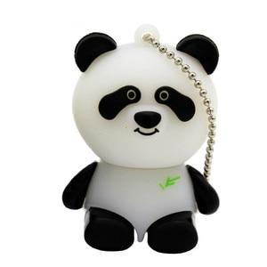 Image 4 - TEXT ME cartoon animal USB Flash Drive mini lovely Panda pen drive special gift cartoon